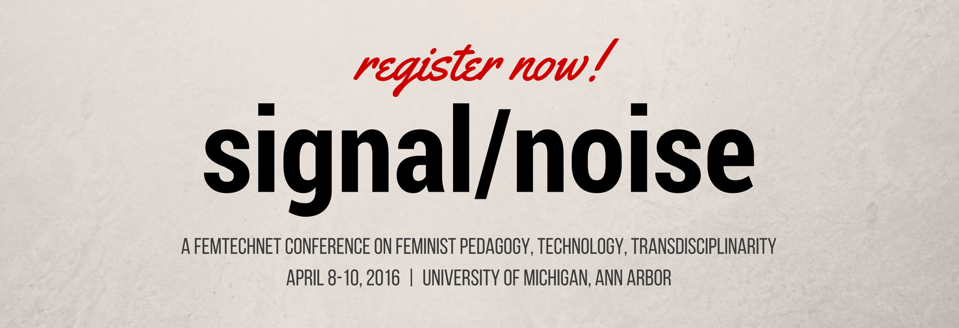 call to register for FTN conference