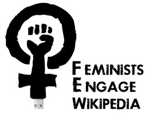Feminists Engage Wikipedia Logo